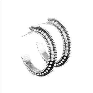 Sliver Hoop Earrings